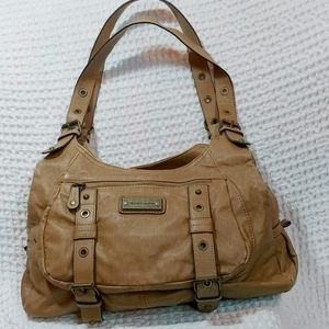 Franco Sarto Tan Shoulder Bag